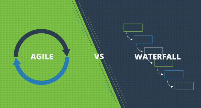 The difference between agile and waterfall for What is the difference between waterfall and agile