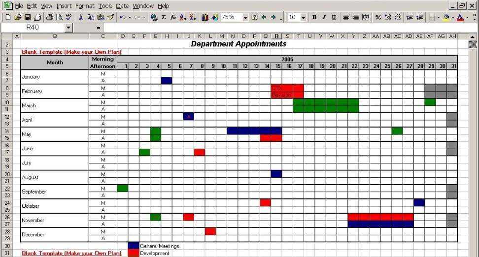 Powerful Planning 3 Ways To Create A Project Calendar Hygger Blog