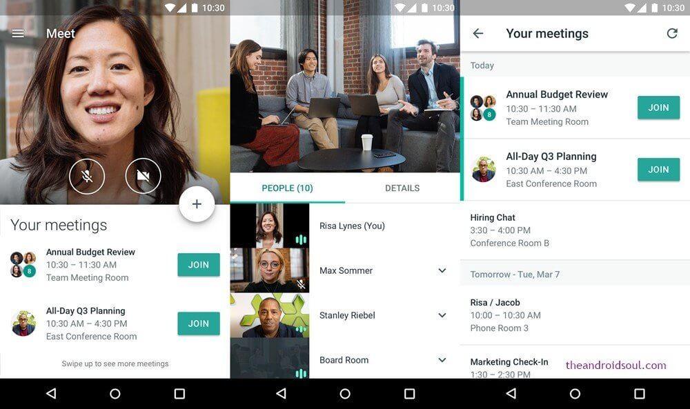 google hangouts, group meeting, online meeting app, hygger article