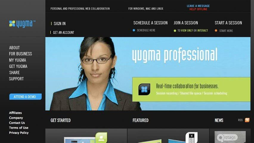 yugma app, online calls app, online group meeting app, hygger review