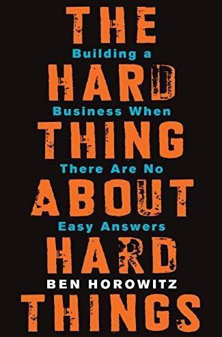 The hard thing book