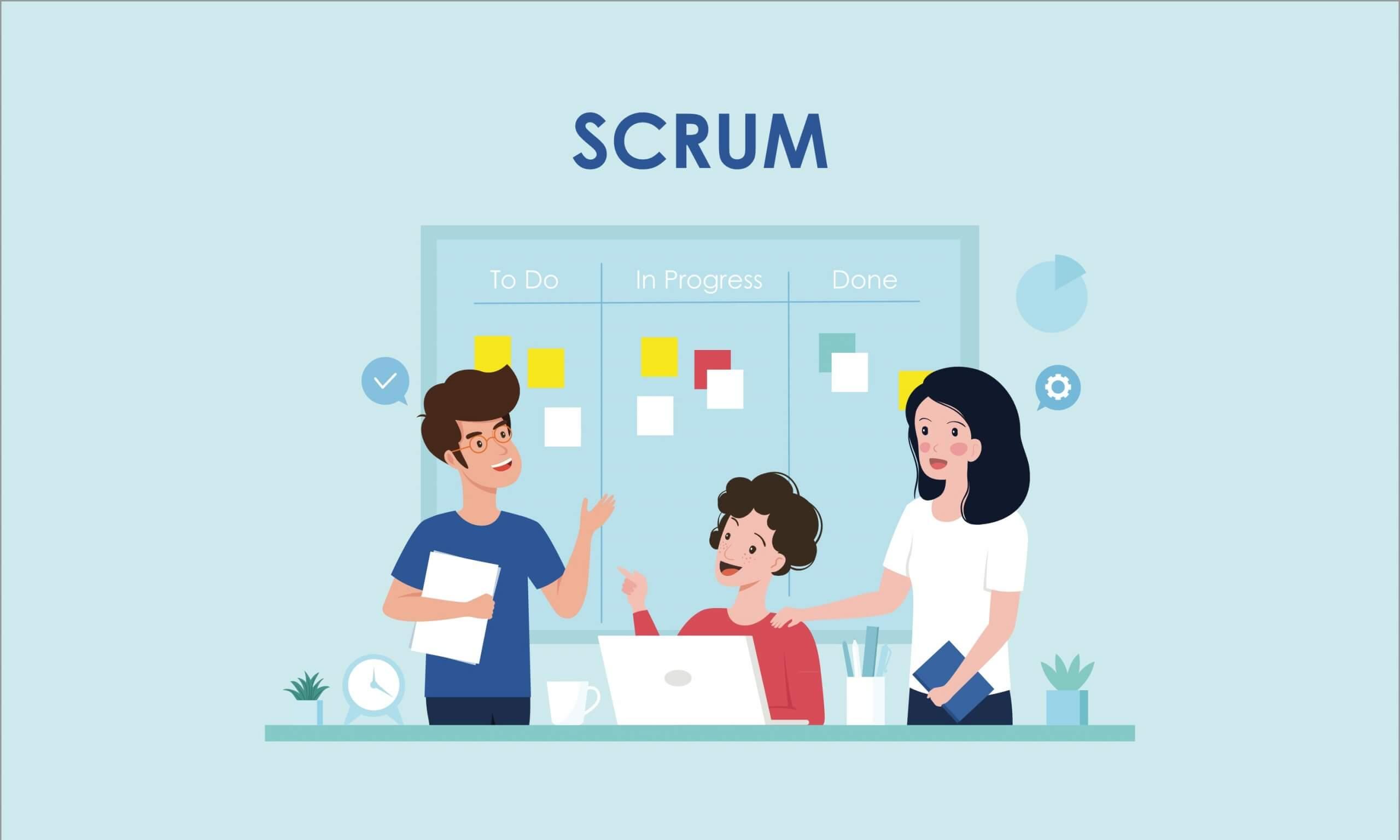 Three Scrum Roles