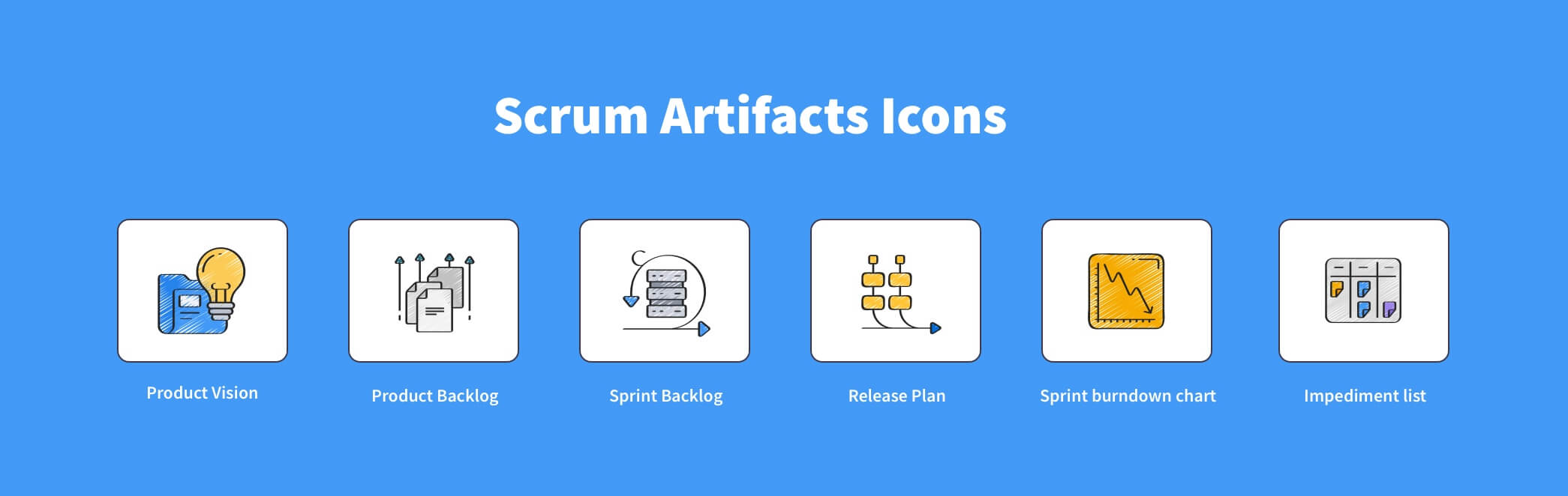 What are Scrum artifacts?