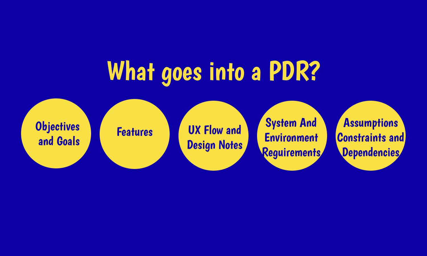 What is PRD?