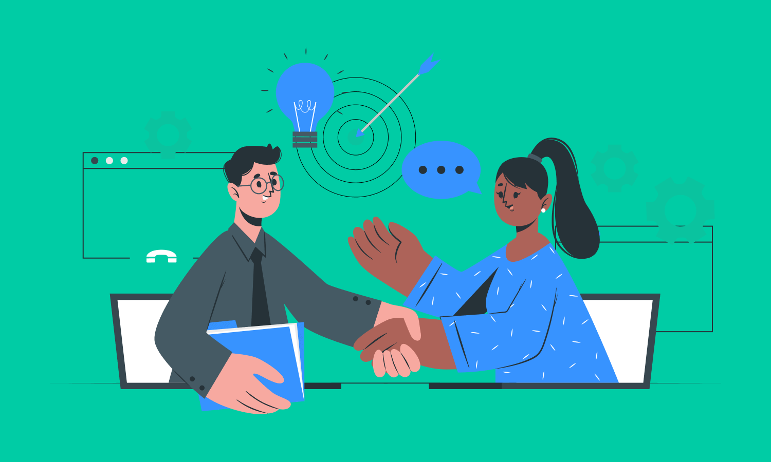 What are the types of collaboration?